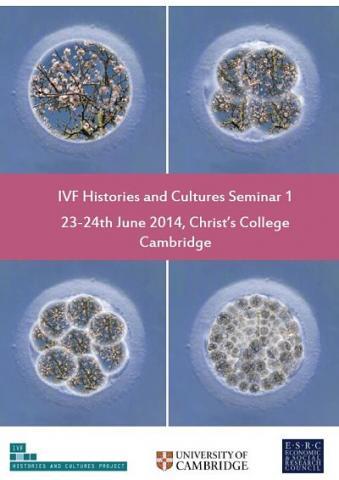 IVF Histories and Cultures Seminar 1