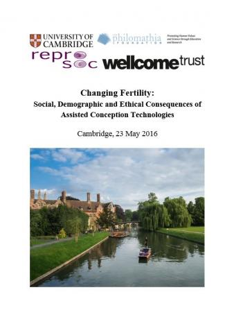 Changing Fertility Programme Cover